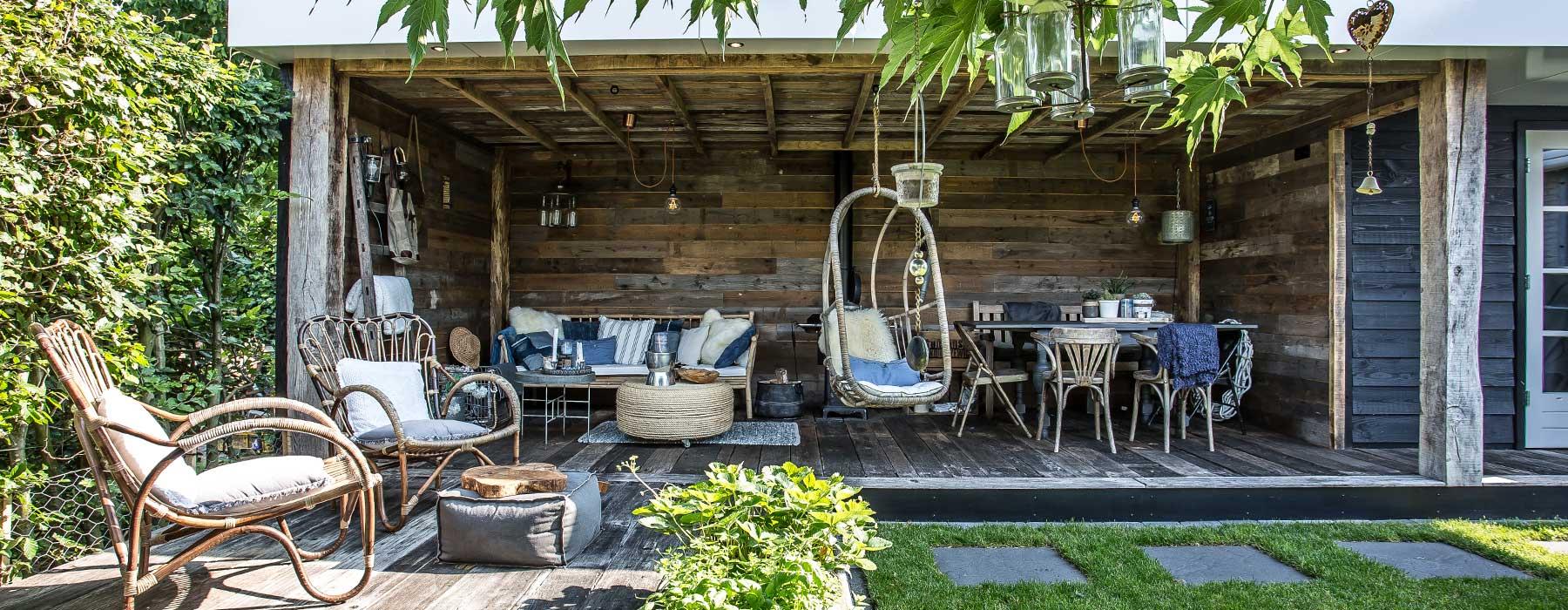 Luxe veranda, landelijke sfeer. Afmeting totaal 10*3.5m, volledig afgewerkt geplaatst!
